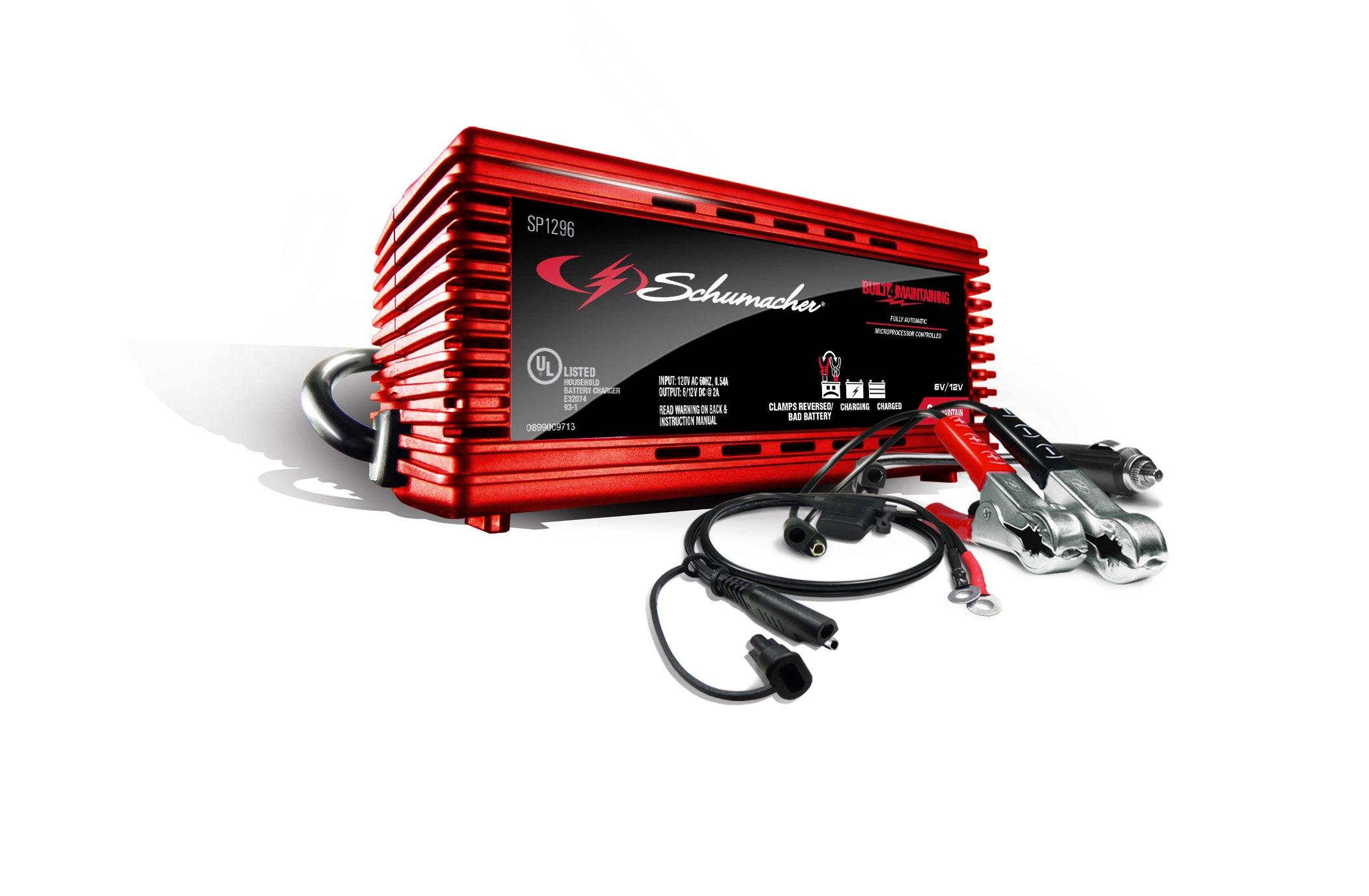 Schumacher SP1296 2A 6V/12V DOE Battery Maintainer