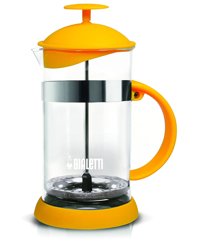 Bialetti Joy - Coffee Press - Yellow - 1l / 8Cup/ 33.8 oz 6183