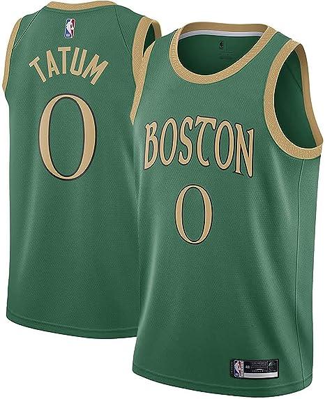 Outerstuff Jayson Tatum Boston Celtics #0 Green Youth 8-20 City Edition Swingman Jersey