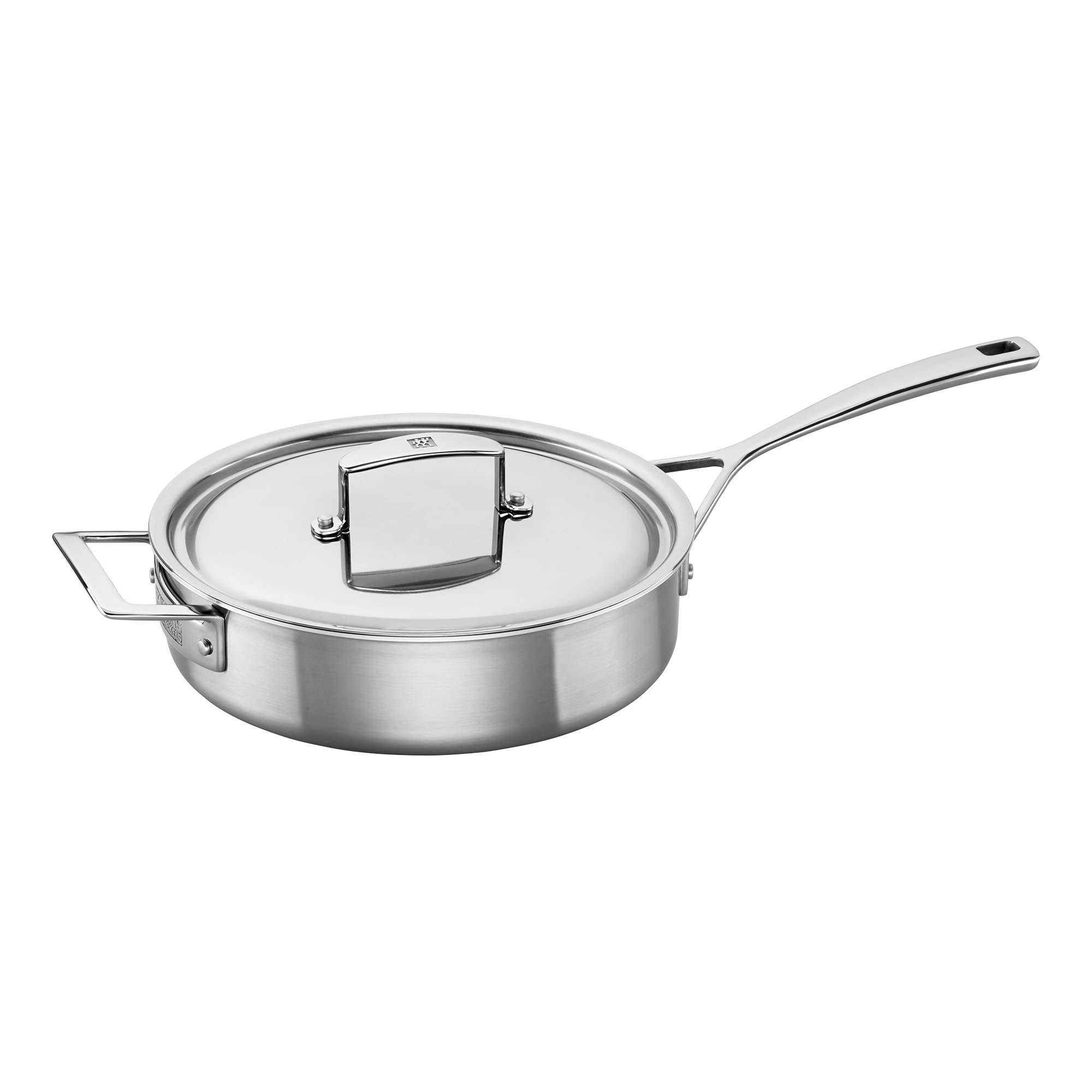 ZWILLING J.A. Henckels 66087-240 Saute Pan, 3 quart, Silver