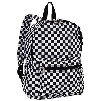 uk saatavuus alhaisempi hinta virallinen sivusto Everest Luggage Multi Pattern Backpack, Checkered, Medium