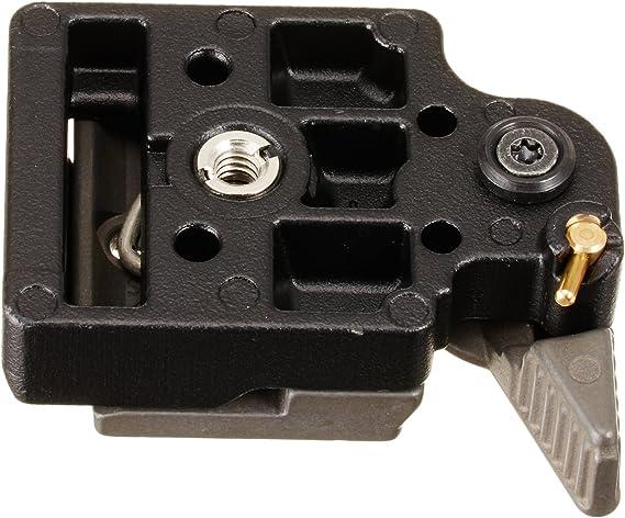 plate adaptador Manfrotto 323 rápidamente cambio implantación Quick Change RECT