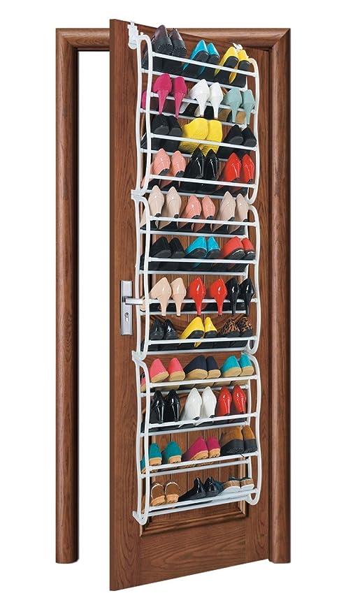 Genial KEPLIN 36 Pair Over Door Hanging Shoe Rack Shelf Organiser Hook Holder  Storage Stand