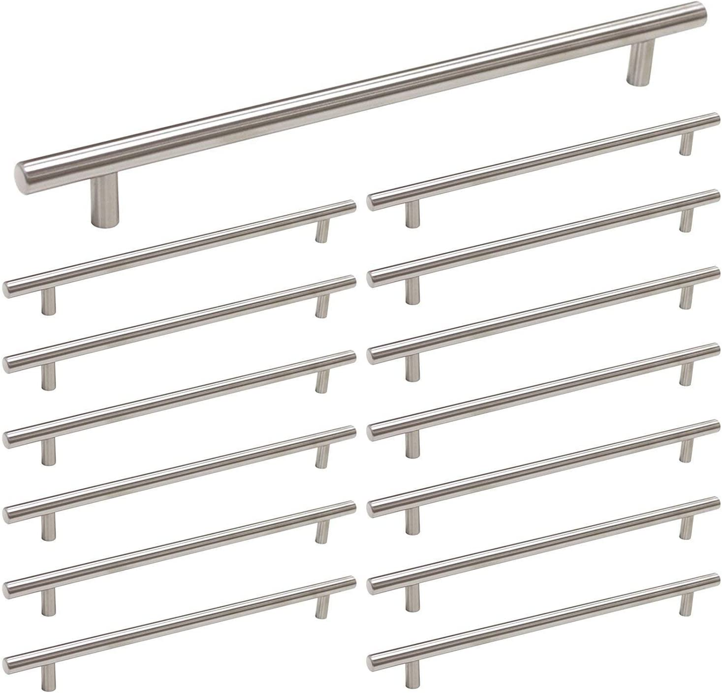 LS201BSS LONTAN Handles for Chest of Drawers Stainless Steel Cupboard Handles 160mm Cabinet Handles 5 Pack