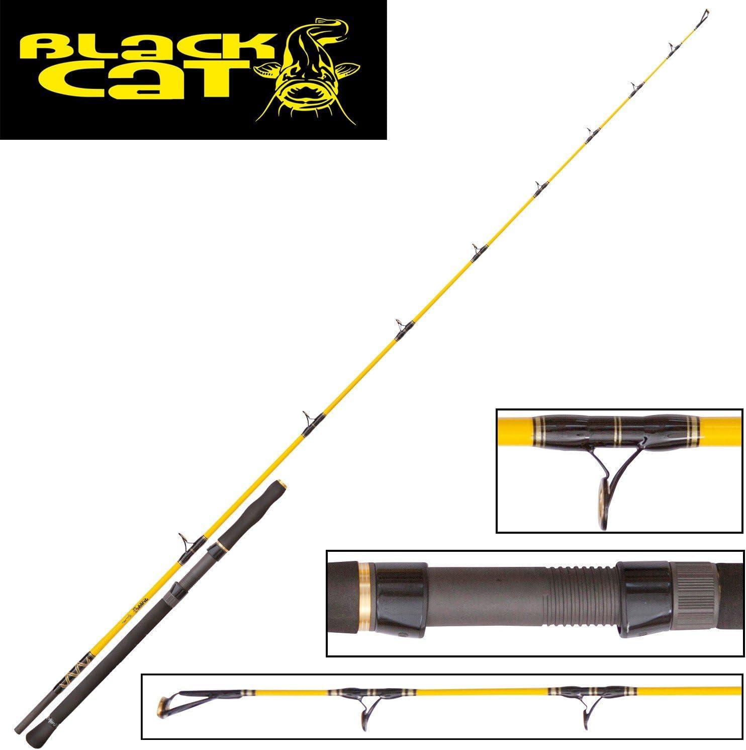Black Cat Spin Mix 2,20 m 120 g Siluro carrete, Waller – Caña de ...
