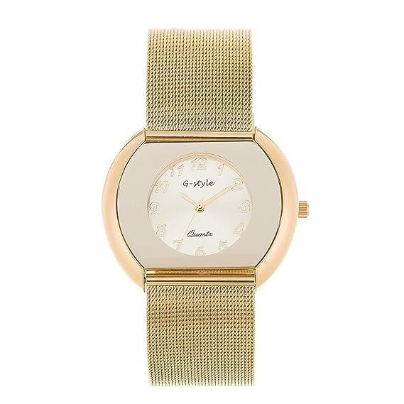 Reloj de Mujer de Moda G-Style Alta Calidad Relojes Pulsera Regalo Perfecto (GSM01