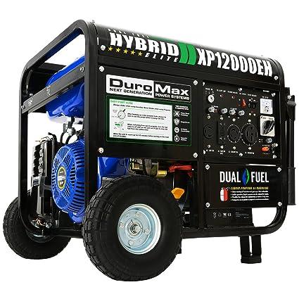 amazon com duromax hybrid dual fuel xp12000eh 12 000 watt portable rh amazon com