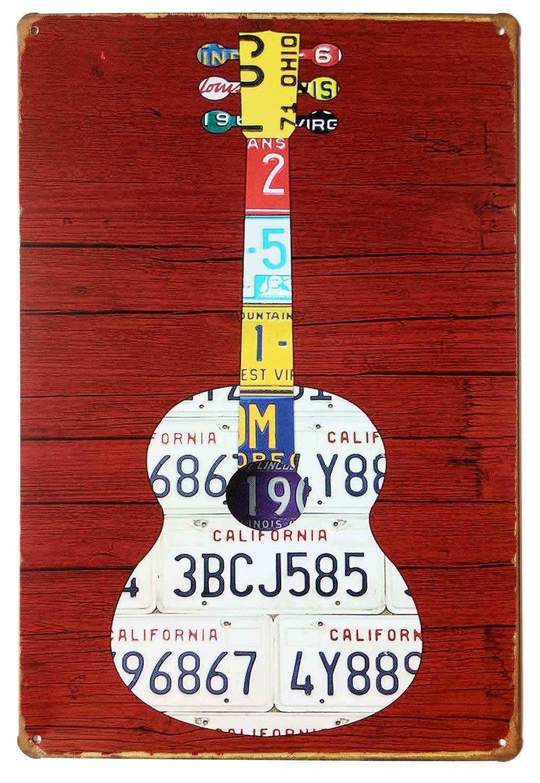 BBGF - Señal metálica (20 x 30 cm), diseño de Chica con Texto ...