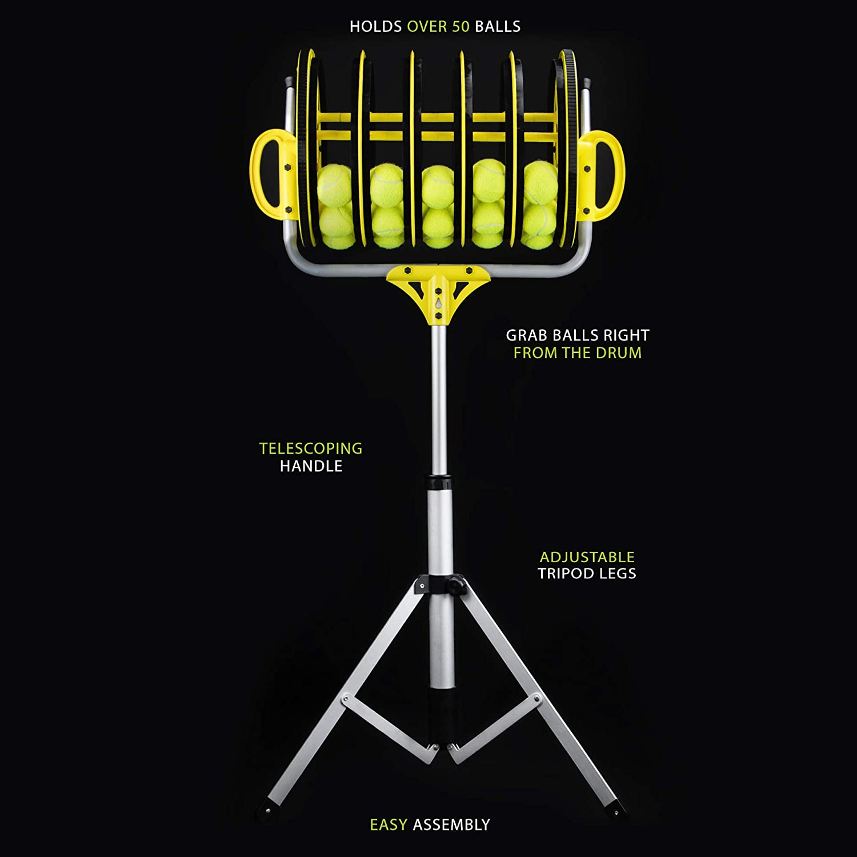 Amazon.com: Pelota de Tenis de EZ Roller 2-en-1 Collector y ...