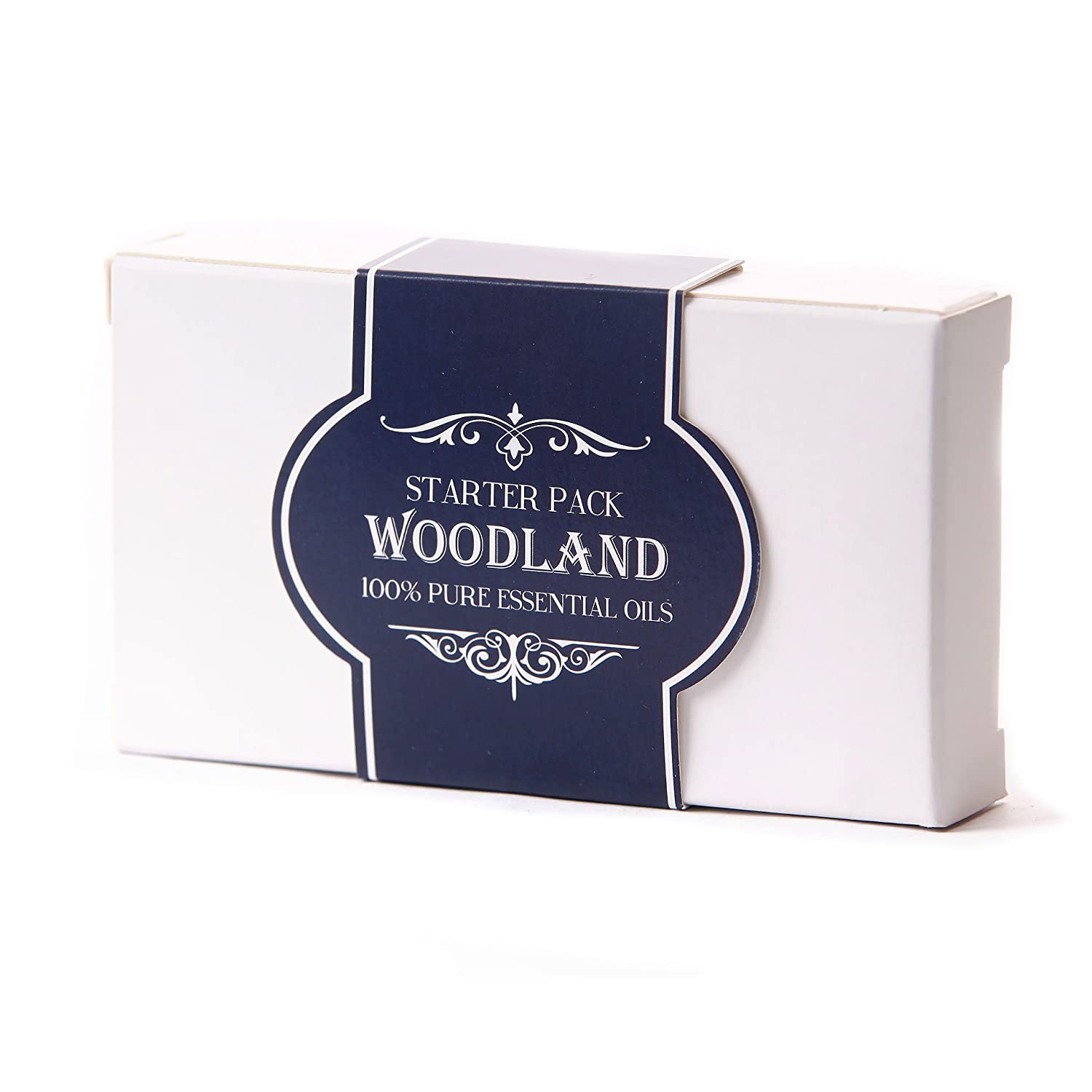 Essential Oil Starter Pack - Woodland Oils - 5 x 10ml - 100% Pure KitchenCentre