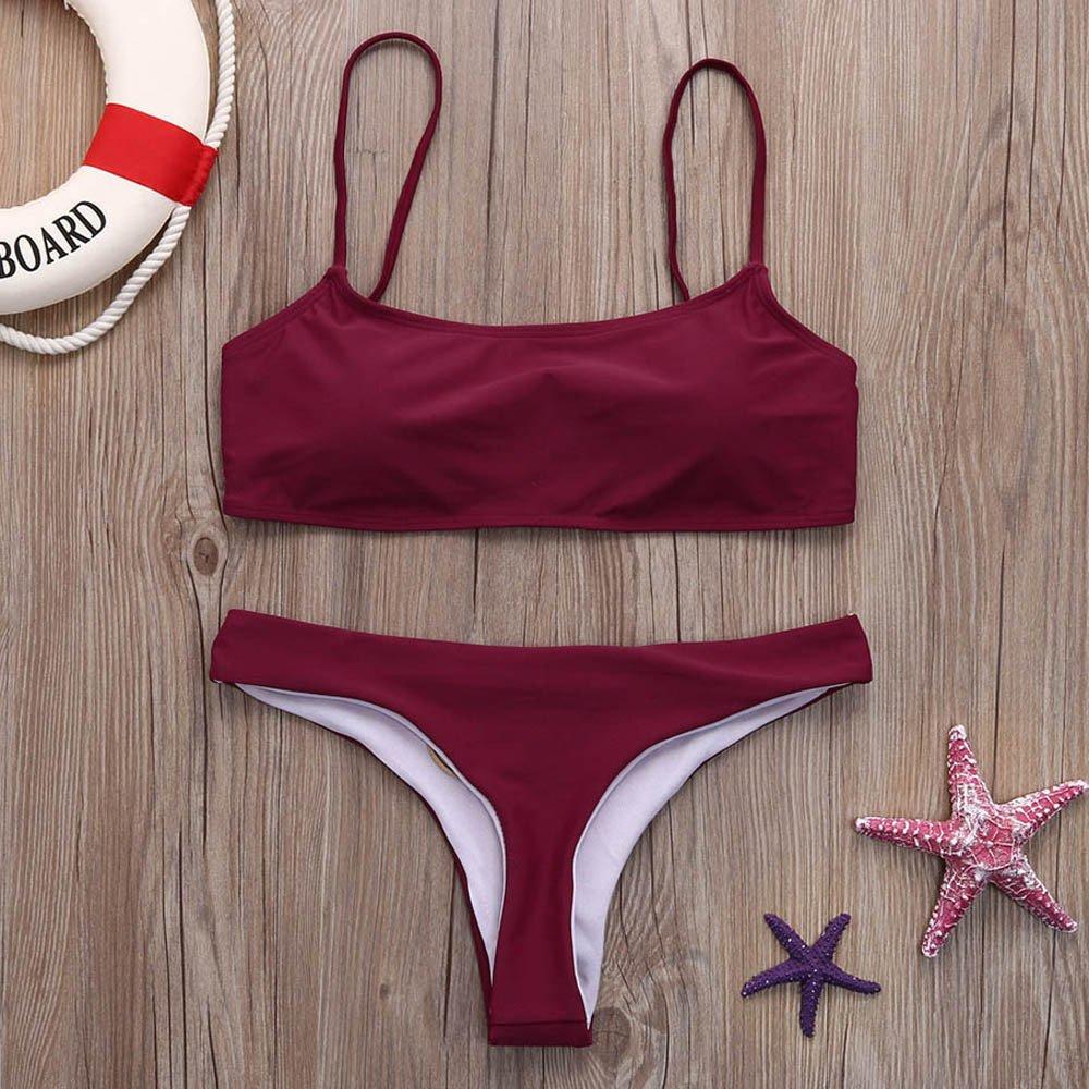 Bikini Mujer 2019 Push Up, YiYLunneo Bañadores Bikinis ...