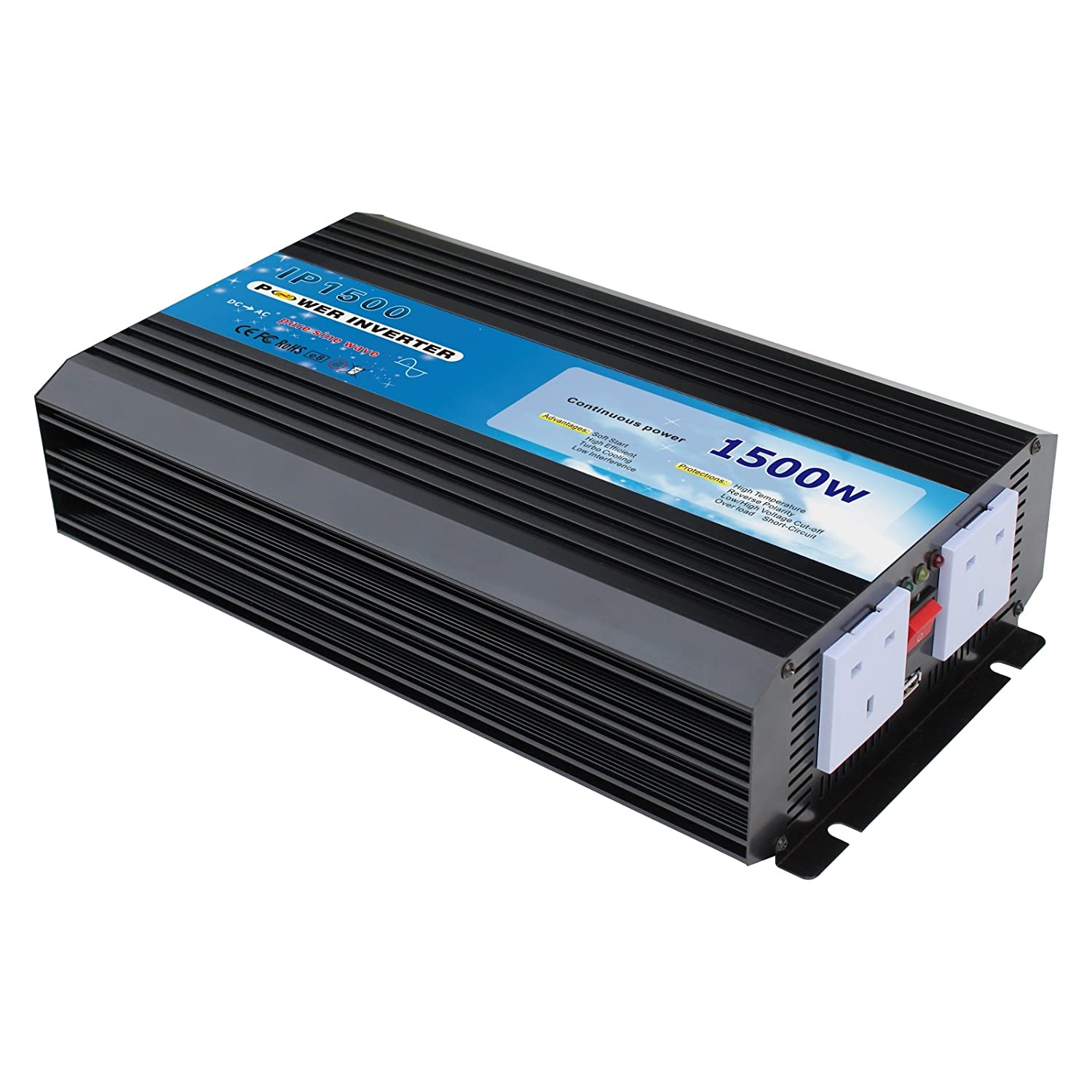 1500w Pure Sine Wave Power Inverter 12v Dc To 230v Ac High Circuit Electronics