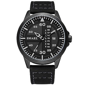 Blisfille Reloj Acero Digital Relojes Hombre Reloj para Personas Mayores Relojes Digital Modernos Hombre Reloj Acero