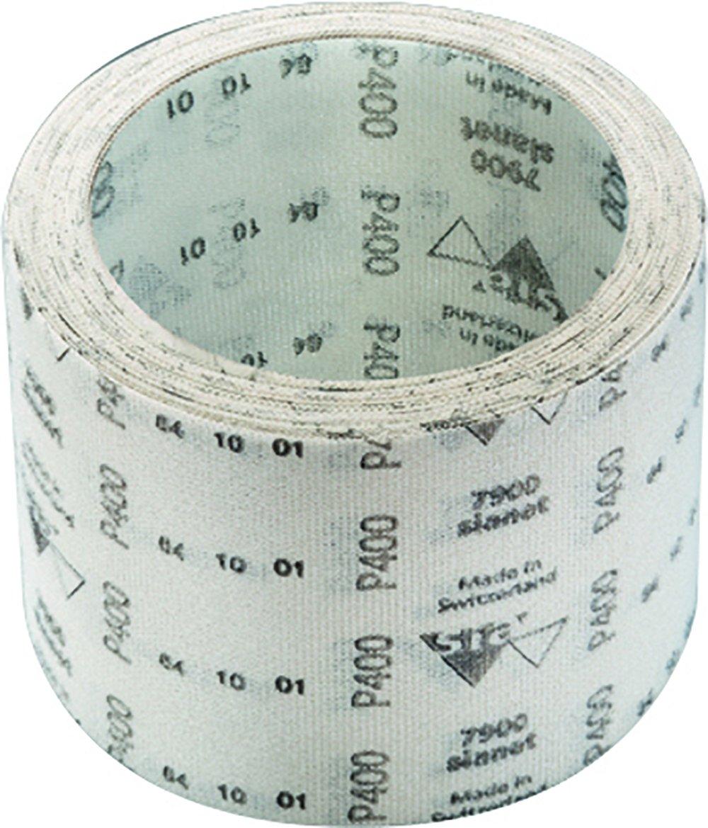 10 m Length Aluminum Oxide Grit 4-1//2 Width 400 Grade SIA Abrasives 1635.2907.0400 Series 7900 Sianet Coated Abrasive Roll