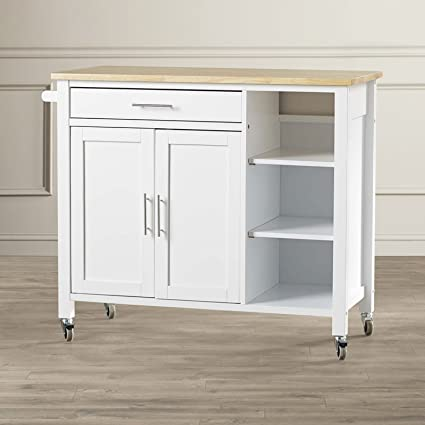 Amazon.com - Simple Living Products Kitchen Cart With ...