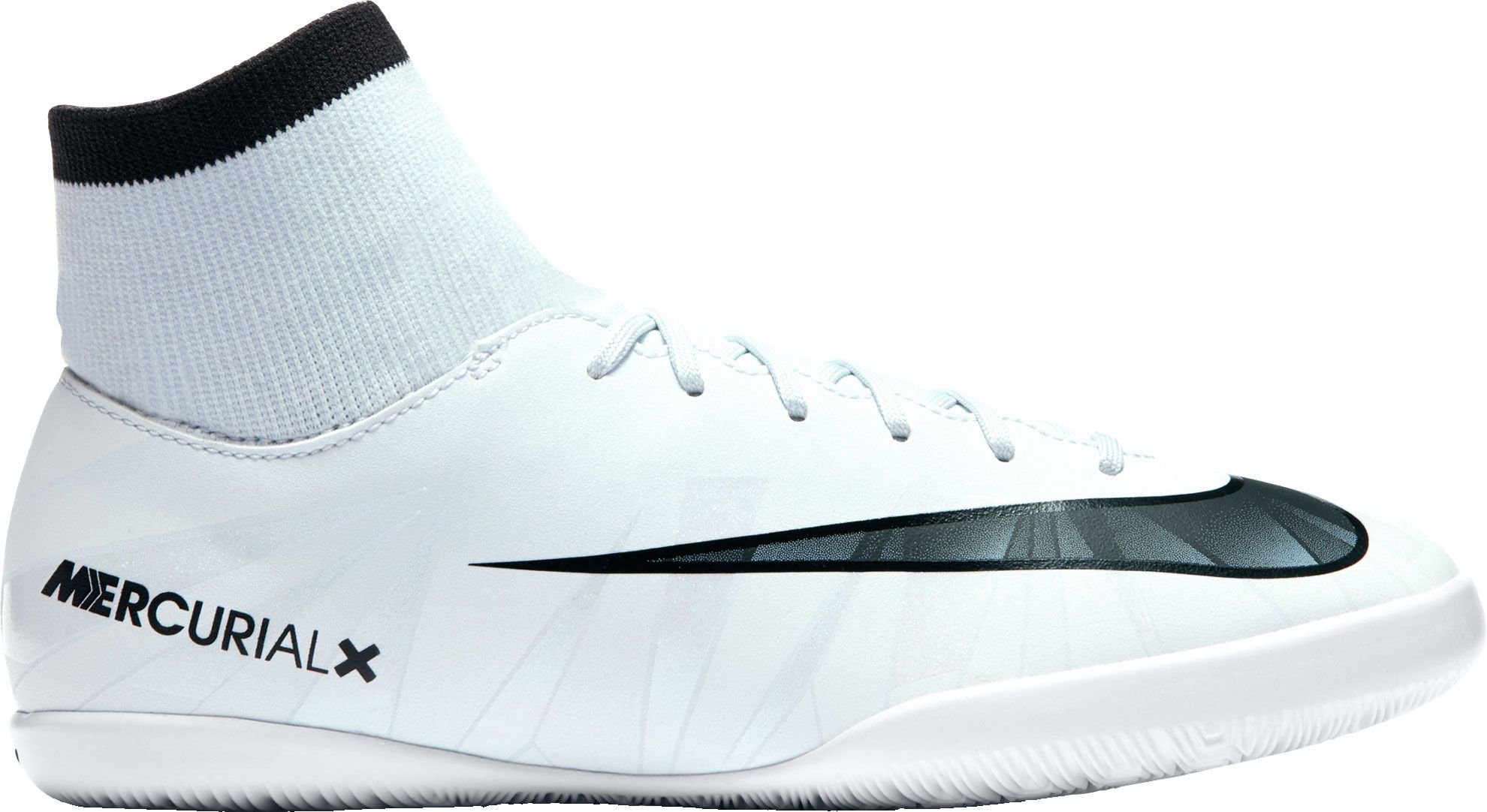 Nike Youth Mercurialx Victory VI CR7 DF Indoor Shoes [Blue Tint] (2.5Y) by NIKE