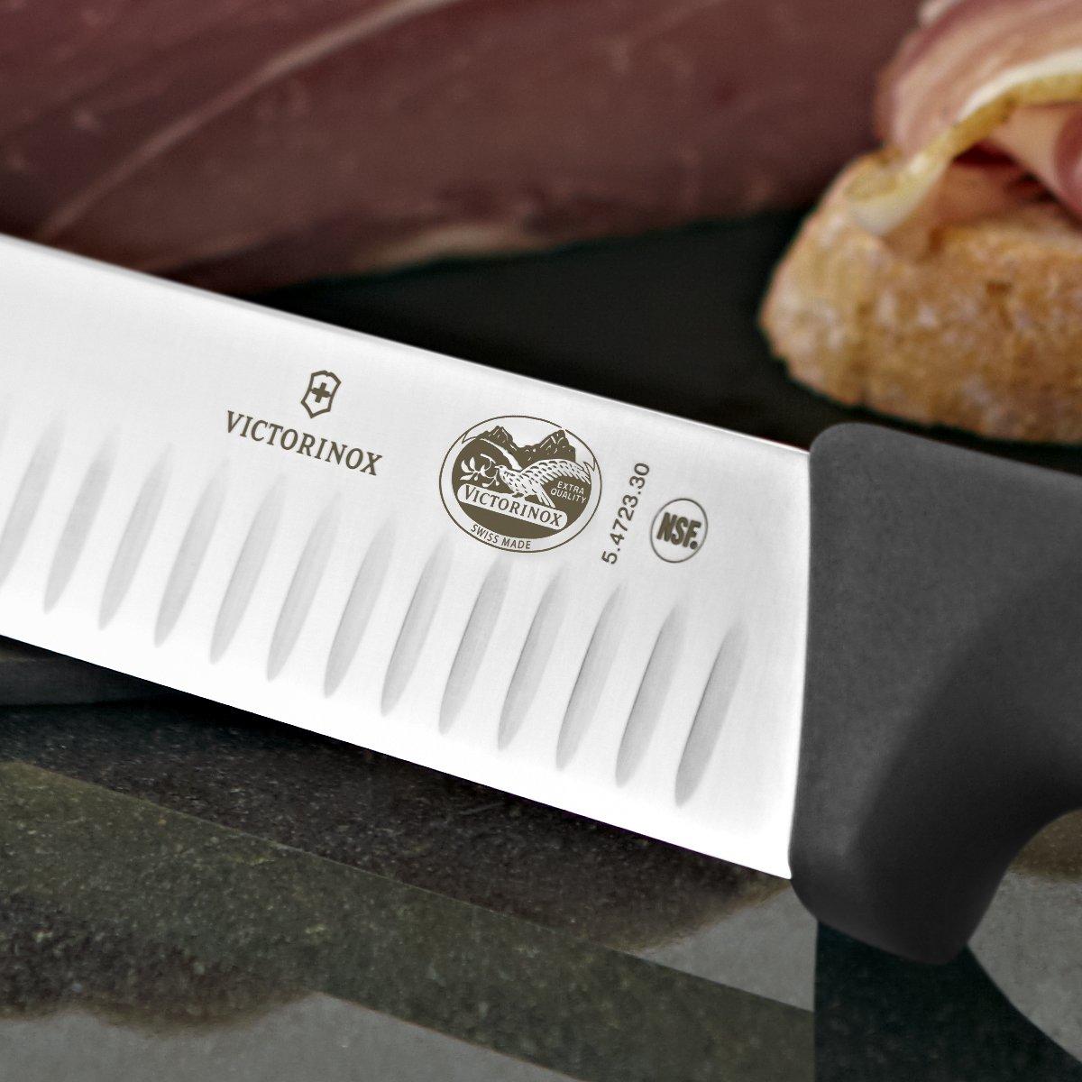 Victorinox 12 Inch Fibrox Pro Slicing Knife with Granton Blade by Victorinox (Image #5)