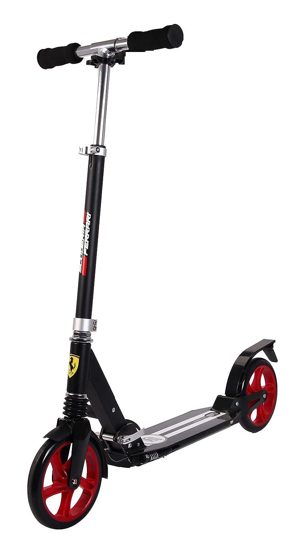 Ferrari Patinete con 2 ruedas (200 mm), color negro: Amazon ...