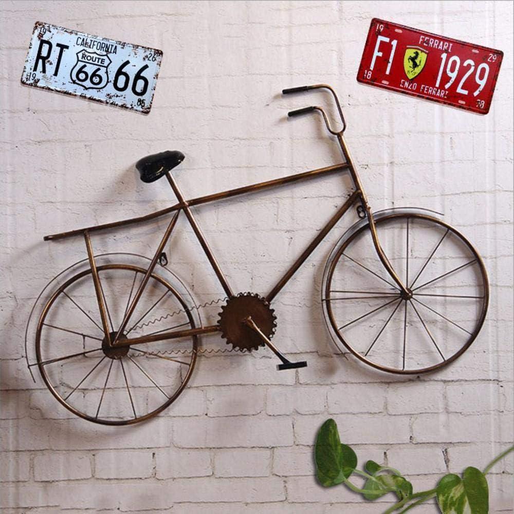 Sxuefang Decoracion de Pared Retro Forjado Hierro Bicicleta Pared ...