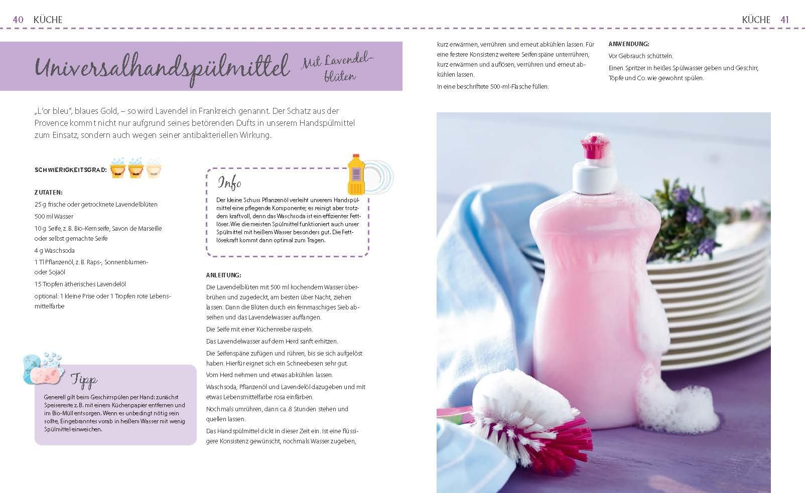 Putz- und Waschmittel selbst gemacht: Natürliche Reiniger für den ...