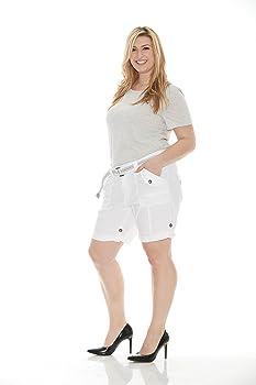 3edc8ac67129b Suko Women Cargo Shorts Adjustable length stretch poplin 2 to 22 PLUS SIZE. Suko  Plus Size Women Cargo Shorts Adjustable Capri ...