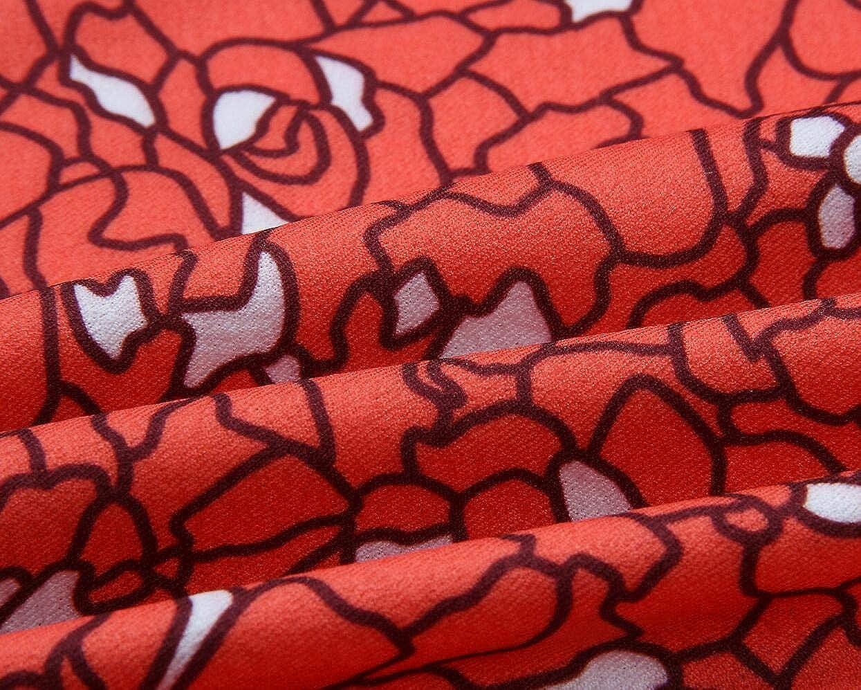 Vska Womens Off Shoulder Floral Printed Bodycon Short Dress Club Dress