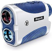 Anyork Golf Rangefinder - 1500 Yard Laser Range Finder 6X Small with Slope On/Off Pinsensor Flag-Lock Tech - Laser Binoculars - with Battery