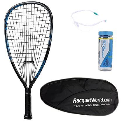 amazon com deluxe advanced racquetball starter kit set pack