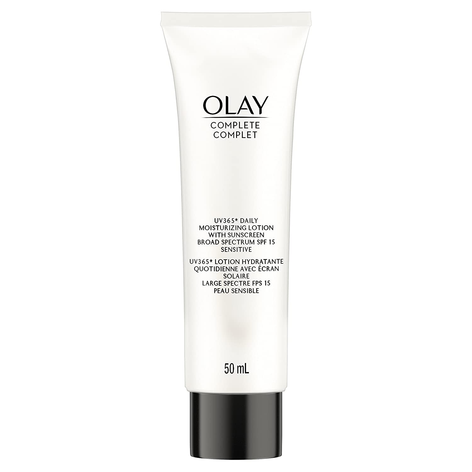 Olay Complete Daily Moisturizing Lotion With Sunscreen Broad Spectrum SPF 15, Sensitive, 50 ml Procter and Gamble