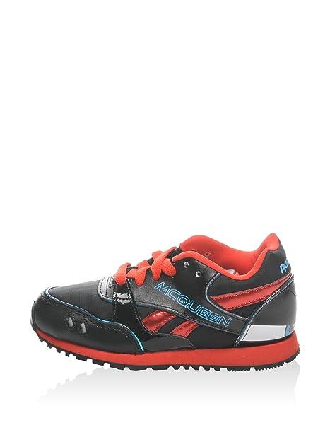 7f30655beec57 REEBOK Classic Cars Neon Runner Zapatillas Moda Chicos Negro Rojo Azul  Zapatillas Bajas  Amazon.es  Zapatos y complementos