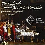 Delalande : Musique chorale pour Versailles. Ex Cathedra, Skidmore.