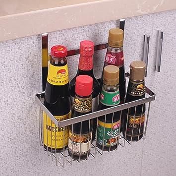 Küche Regal Edelstahl Haken Küchenschränke Lagerung: Amazon.de ...