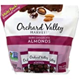 Orchard Valley Harvest Snack Packs - Dark Chocolate Almonds - 15 Ct. Multi Pack, Non-GMO Project Verified, No Artificial Ingr