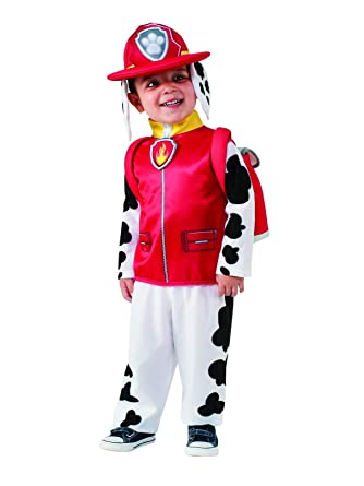 Paw Patrol: Boys Marshall Classic Toddler Costume (M 8 10)