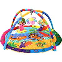 F Fityle Baby Mat Play Gym Soft Activity Foam Musical Playmat Kids Toys Gym Monkey