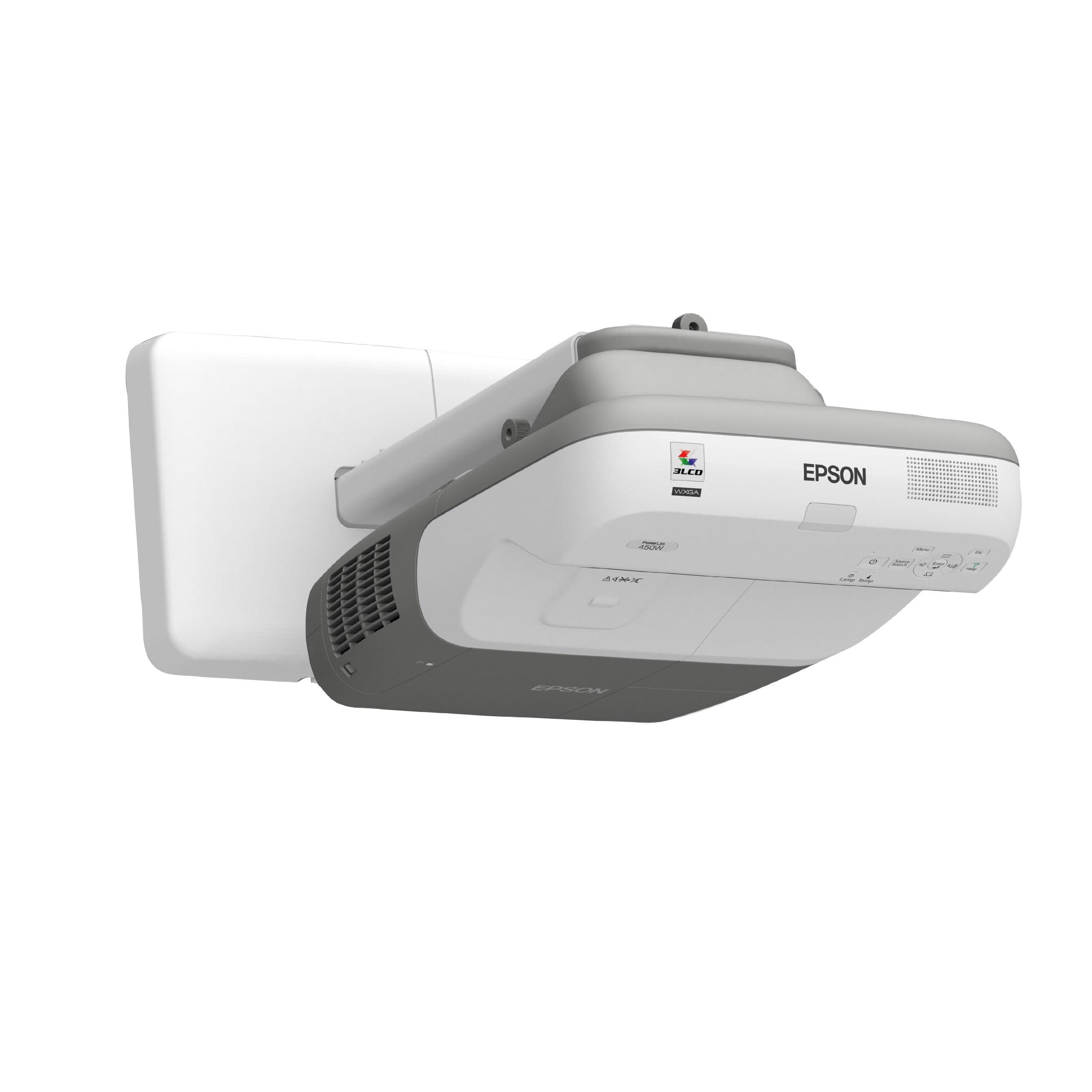 Epson PowerLite 450W MultiMedia Projector (V11H318020) by Epson