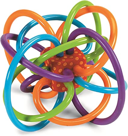 Toy Rattle & Sensory Teether Toy