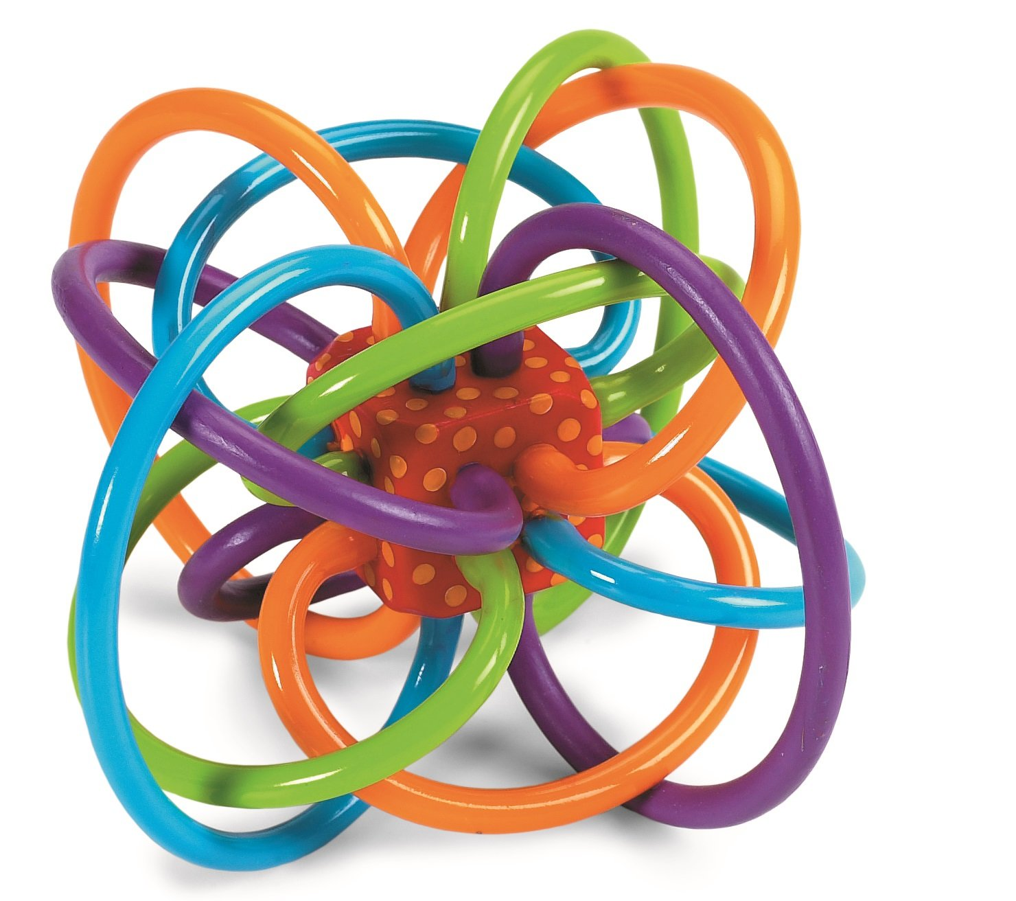 Amazon Manhattan Toy Winkel Rattle and Sensory Teether Toy