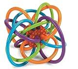 Manhattan Toy Winkel的摇铃和感官牙胶活动玩具