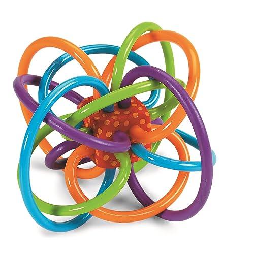 Manhattan Toy d'activité Winkel Hochet et Dentition Sensorielle