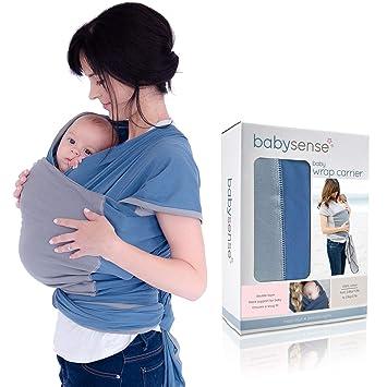 3 YRS Soft Baby Sling Stretchy Wrap Holder Carrier Breastfeeding Newborn Birth