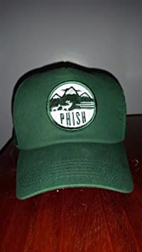 PHISH - PHISH TRUCKER HAT VERMONT GREEN OFFICIAL DRY GOODS RARE NOT SHIRT  PIN POSTER VINYL LP RECORD - Amazon.com Music 0ecd8475a3c3