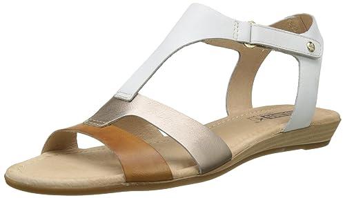 Pikolinos Alcudia 816_v17 Damen Offene Sandalen mit Keilabsatz