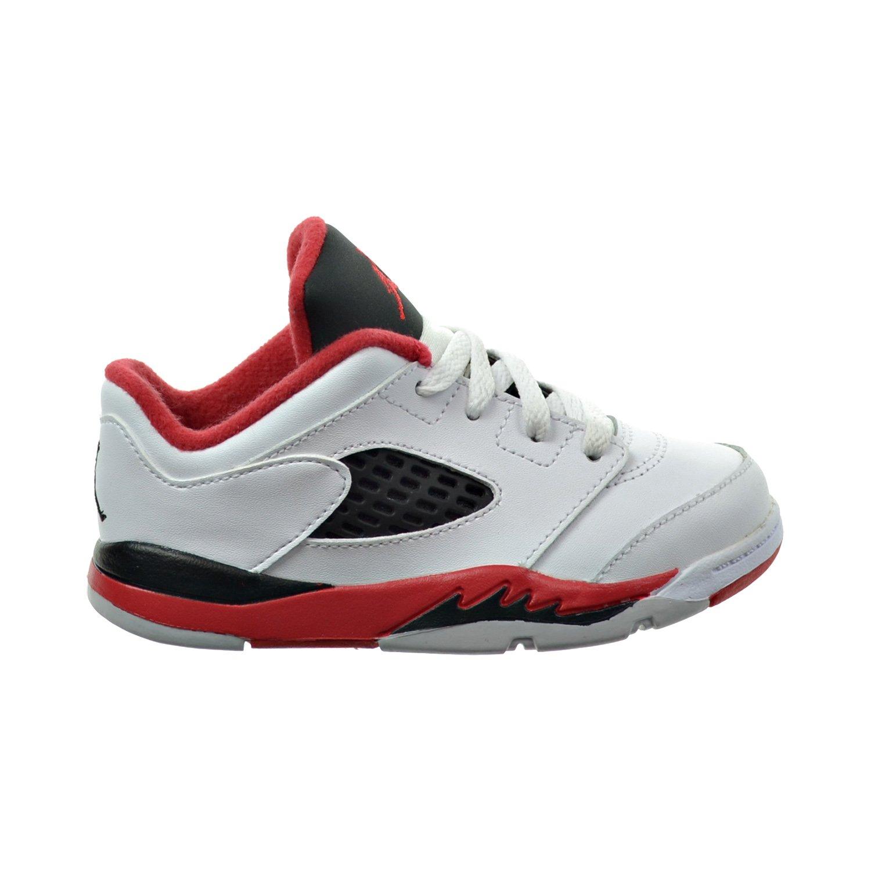 huge selection of 0b350 cd631 Amazon.com | Jordan 5 Retro low (TD) Toddler's Shoes White ...