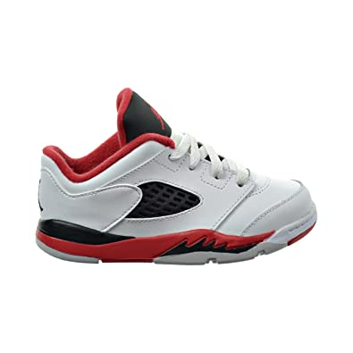 sports shoes 9a7cb 6ff29 Jordan 5 Retro low (TD) Toddlers Shoes WhiteFire RedBlack 314340