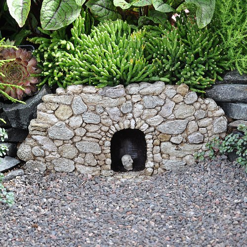 Amazon.com : Miniature Fairy Garden Fiddlehead Fairy Village Troll Cave  With Skull : Outdoor Statues : Garden U0026 Outdoor