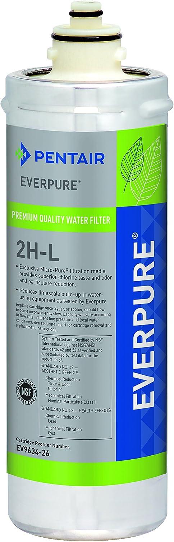 Everpure EV9634-26 2H-L Water Filter Cartridge Replacement