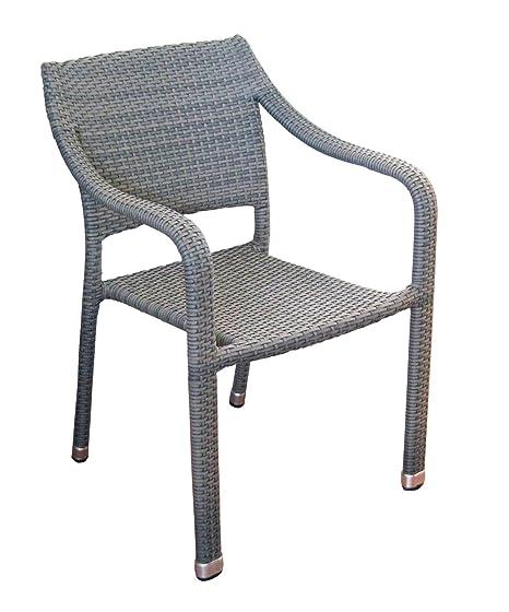 Sedie In Rattan Sintetico.Sedie Bar E Giardino Rivestite In Rattan Sintetico Color Avana Set