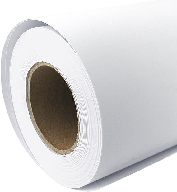 Rollo de papel para plóter Mate 128 g/m², 61 cm x 30 m A1 A2 ...