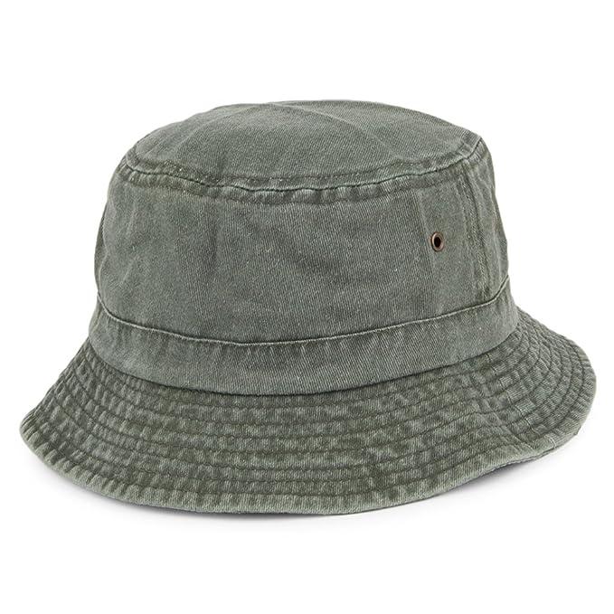 Village Hats Sombrero de pescador de algodón - Oliva  Amazon.es  Ropa y  accesorios 48d9e709a17